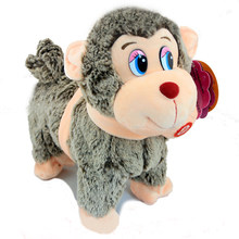 Virtual Pet Toy Walking Singing Monkey Interactive Toys Electronic Pets Kids Happy Monkey Robot Rc Animal Science Musical robo(China)