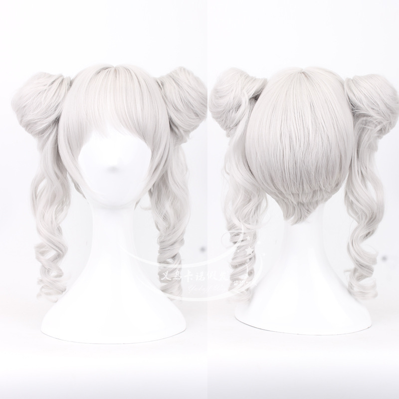 Miracle Nikki hair accessories synthetic curly hair jewelry extension for cosplay wigs