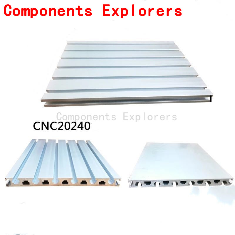 Arbitrary Cutting 1000mm 20240 Aluminum Extrusion Profile For CNC Plate,Silvery Color.