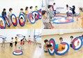 Los niños el Deporte de Juego Divertido Hual Aros Hula Hoops Saft Niños de Alta Calidad Para Niños D393