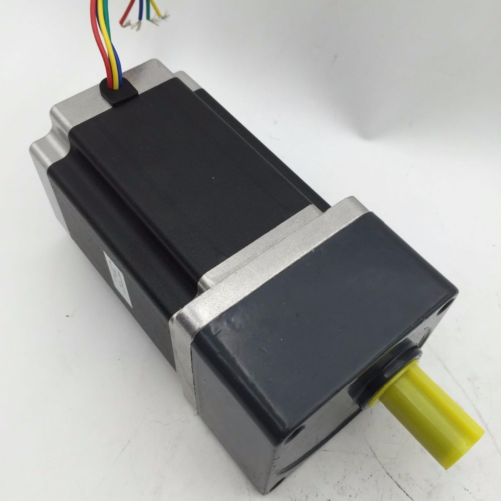 New Ratio1:50 NEMA34 4A 3NM 429oz-in L 66mm Gear reducer Stepper Motor CNC Router In Box ratio 10 1 gear stepper motor nema34 stepping motor with gearbox 3nm 4a 86byg l66mm shaft 15mm for cnc router new