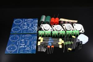 Image 2 - Simple Class A JLH 1969 Power Amplifier Kit Two channel ST2N3055 Amplifier Board DIY Kit