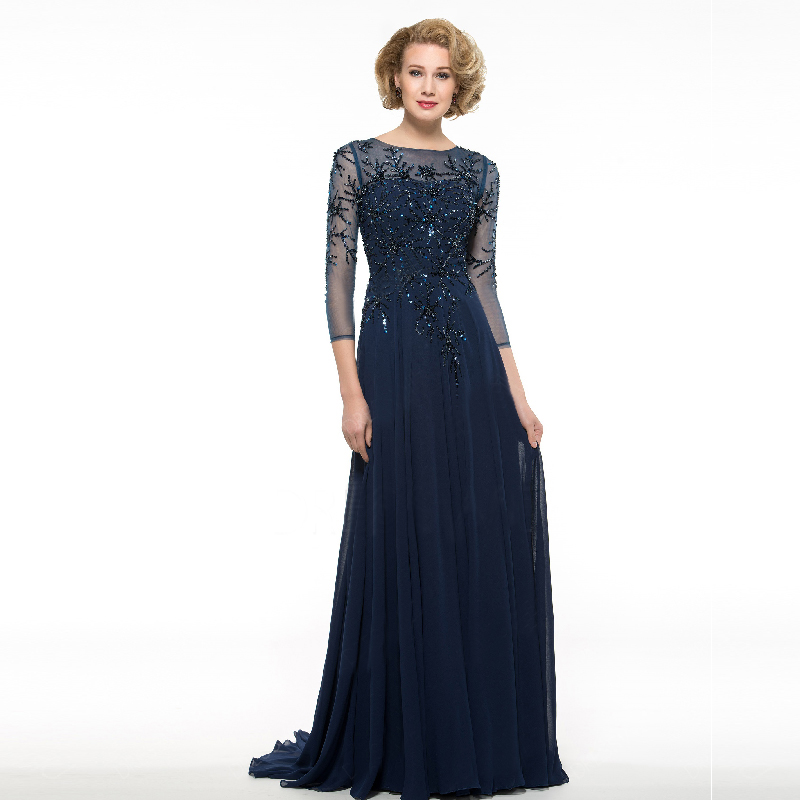 Aliexpress.com : Buy Navy Blue Plus Size Mother Of The