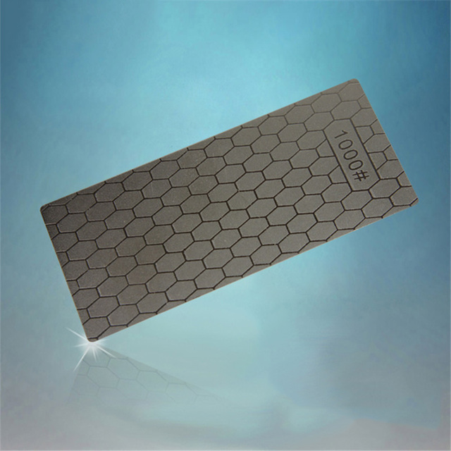 1PC Portable Ultra-thin Diamond Sharpening Stone 150*63*1mm Honeycomb Surface Whetstone Knife Sharpener Kitchen Grinding Tool  4