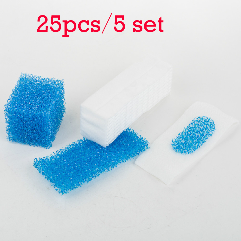 25pcs/5 Set Thomas Twin / Genius Filter for Thomas 787203 Vacuum Cleaner Parts Twin Aquafilter Genius Aquafilter Filters
