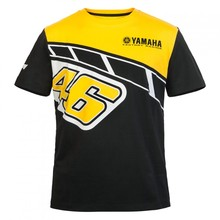 Motorcycle Valentino Rossi VR46  heritage For Yamaha T-shirt Moto GP Motorcycle Monza Cotton T shirt