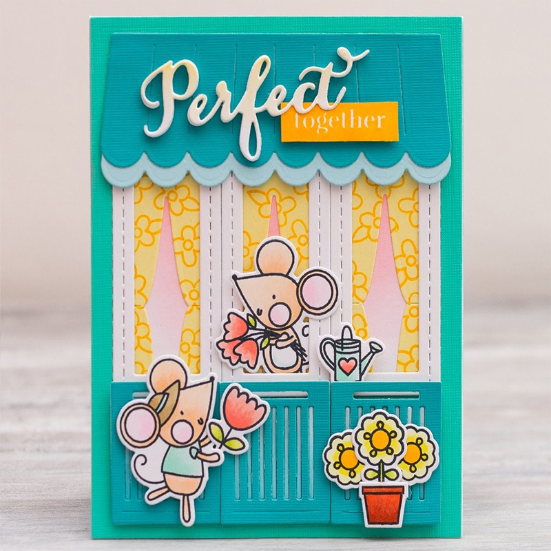 Lovely House Metal Cutting Dies Stencils For Card Making Decorative Embossing Suit Paper Cards DIY Dies Scrapbooking New 2018