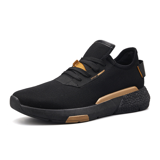 Сетки Спортивная обувь для Для мужчин осень мода новый Для мужчин легкий дышащий материал беговые кроссовки Для женщин прогулки спортивная обувь размеры 39–44