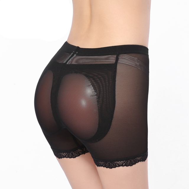Silicone padded panties seamless underwear butt pads underwear women bodies woman sexy butt lifting panty women's underwear
