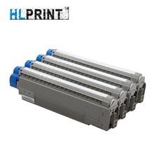 printer toner cartridge Compatible OKI MC861 861 BK 44059256 Y 44059253 M 44059254 C 44059255 1pcs/Lot