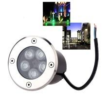 Водонепроницаемый светодиодный светильник для сада подземный 1 Вт-5 Вт IP67 наружный светильник для сада