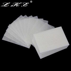 Image 4 - LKE Lint Free Wipes Napkins Manicure Remove Nails Varnish Cotton Pads Nail Art Tools Lint free Nail Gel Polish Removal Wraps