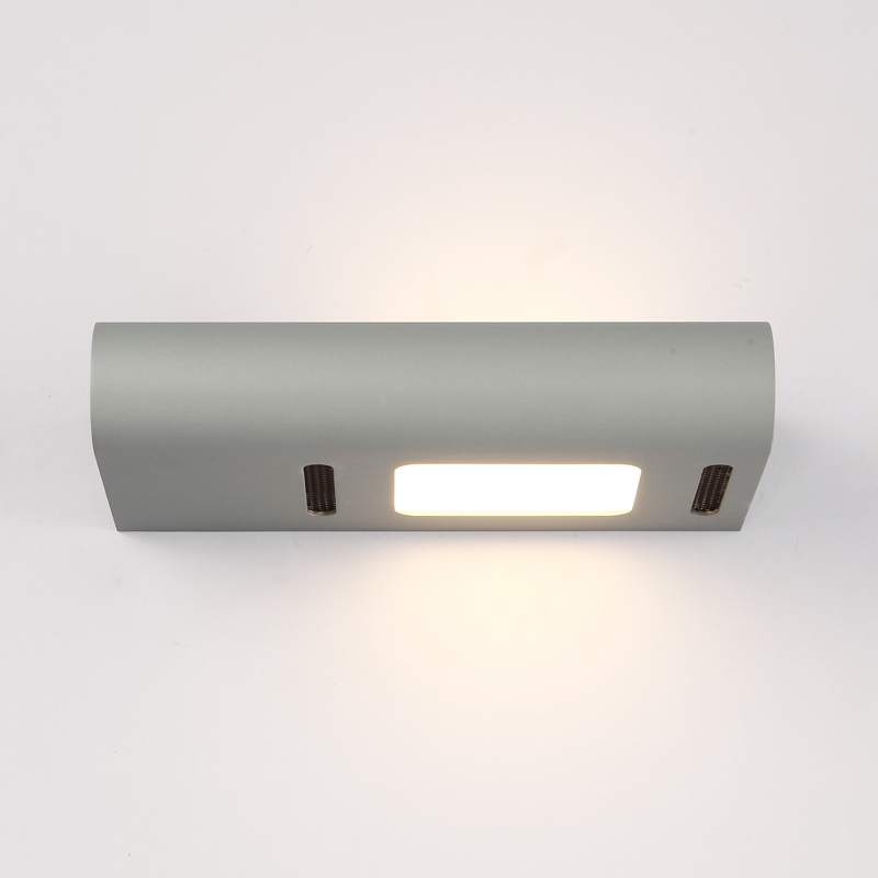 Modern led wall light for living room home decoration wall lamp aluminum wall sconce bathroom adjustable bright LED 6W lights modern 6w 24cm long linear aluminum lampshade led bathroom mirror light home decorative lamp illumination furniture wall mounted