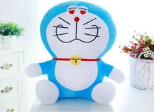 small cute doraemon toy stuffed lovely heart-eyes doraemon doll perfect gift about 25cm