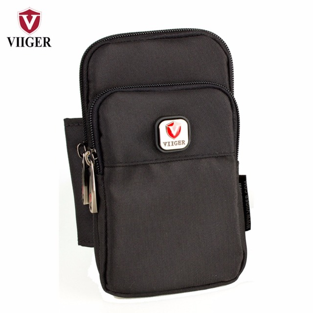 Viiger Vertical Cell phone Pouch Smartphone Holster Hip Bum Bag Belt Bag Waist Bag Fanny Pack w Belt Loop for iPhone 6 6S 7 Plus