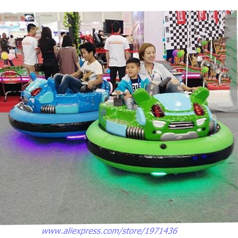Amusement Device Park Equipment Kids Adults Laser Shooting Inflatable Collision Cars Crashproof Electric Bumper Cars