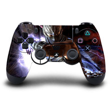 PS4 Controller Skin The Witcher PVC HD PS4 Sticker Full Cover For PlayStation4 Wireless Controller Skin Accessory