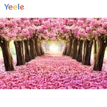 Photophone Newborn Baby Birthday Party Background Wedding Photography Backdrop Dreamy Pink Flower Photocall For Photo Studio
