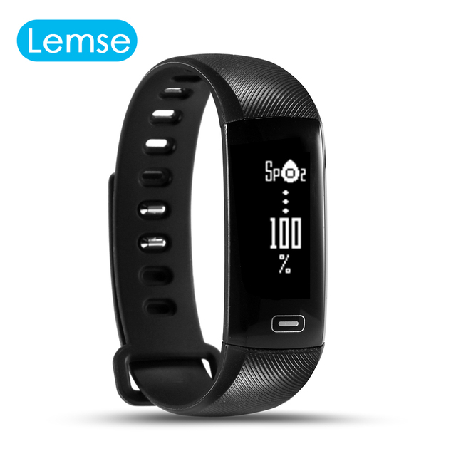 R5 pro Smart wrist Band Heart rate Blood Pressure Oxygen Oximeter Sport Bracelet Watch intelligent For iOS Android