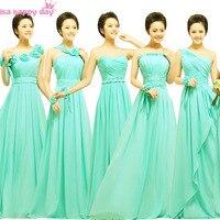 Brides maid sexy semi formalna turkus zielony druhna brides pokojówki formalne sukienki panny młodej sukni druhny