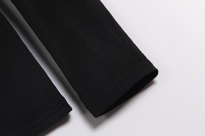 HTB1fqTXMVXXXXbTapXXq6xXFXXX8 - Autumn T Shirt Women Long Sleeve Slim Fit Solid