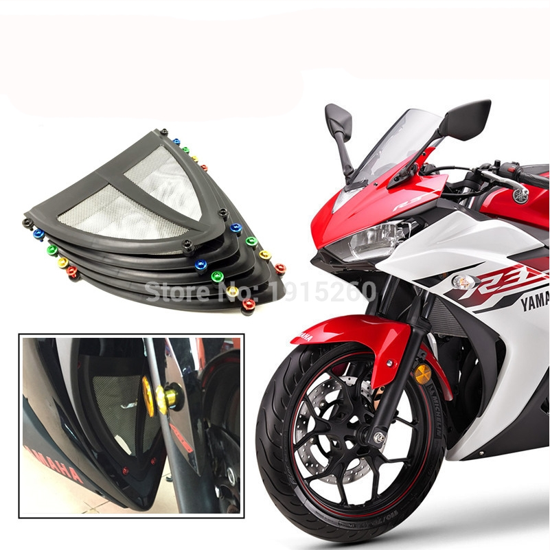 RPMMOTOR Motorcycle Motorcycle Motor Under Antifouling Cover Protector With Fairing Screws For Yamaha YZF R3 2015 2016