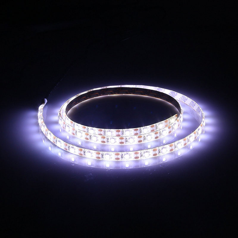 2m Resin Waterproof 3528smd Flexible Cool White USB LED