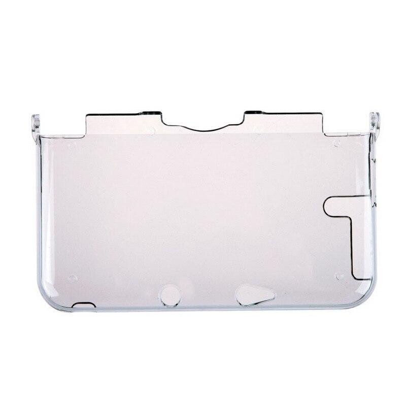 Прозрачный защитный чехол для Nintendo 3DS XL, прозрачный жесткий пылезащитный чехол LL L3FE, защита всего корпуса