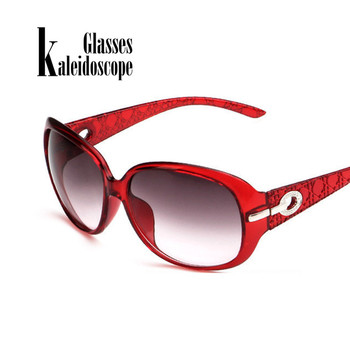 Vintage Fashion Hollow Frame Oversized Sungasses For Women High-end New Brand Female Sun Glasses Eyewears