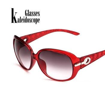 Vintage Fashion Hollow Frame Oversized Sungasses For Women High-end New Brand Female Sun Glasses Eyewears