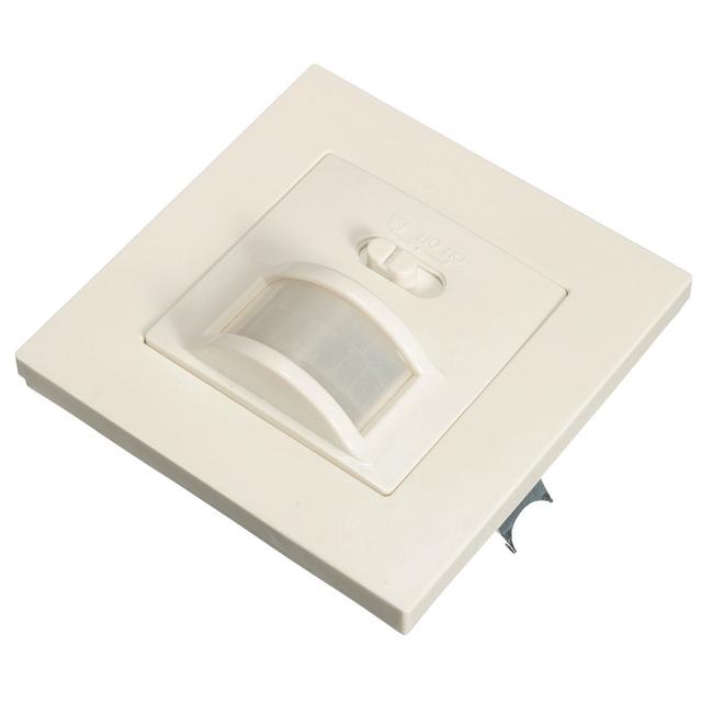 Nova chegada 1 pcs 2em1 auto on/off segurança infravermelho infravermelho pir ocupação motion sensor de som interruptor de parede recesso luz