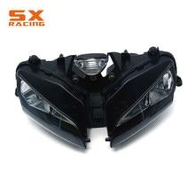 Conjunto de farol para motocicleta, lâmpada de cabeça para acessórios de motocicleta para honda cbr600rr cbr 600rr 600 rr 2003 2004 2005 2006