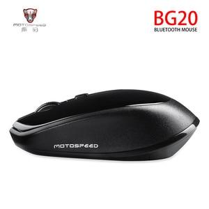 Image 2 - MOTOSPEED BG20 USB Wireless mouse 2400DPI Adjustable USB 3.0 Receiver Optical Computer Mouse 2.4GHz Ergonomic Mice For Laptop PC