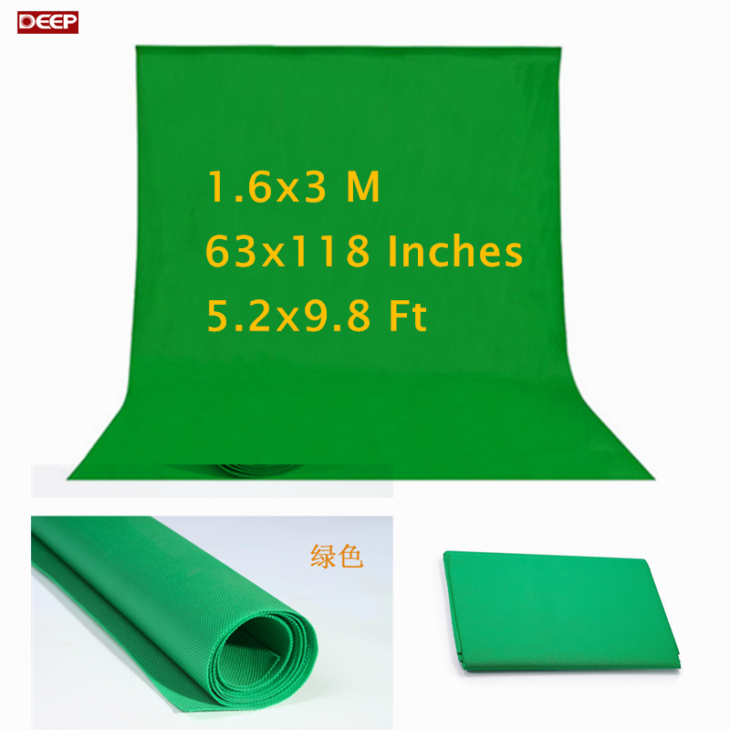 Photo Photography studio Green Screen Chroma key Non Woven Background Backdrop for Studio Photo lighting fotografia