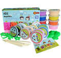 Play Doh 12 Colors A Set DIY Malleable Fimo Polymer Modelling Soft Clay Blocks Plasticine Playdough clay paper clay