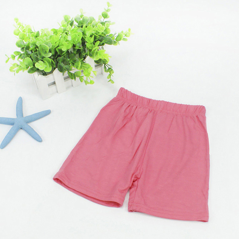 2017 Baby Kids Girls Summer Casual Pants Leggings Skinny Stretch Safety Shorts clothes Summer
