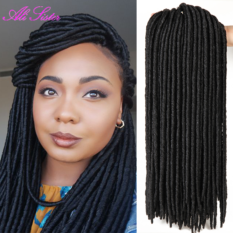 Crocheting Locs : ali sister hair faux locs crochet dreads extensions faux locks crochet ...