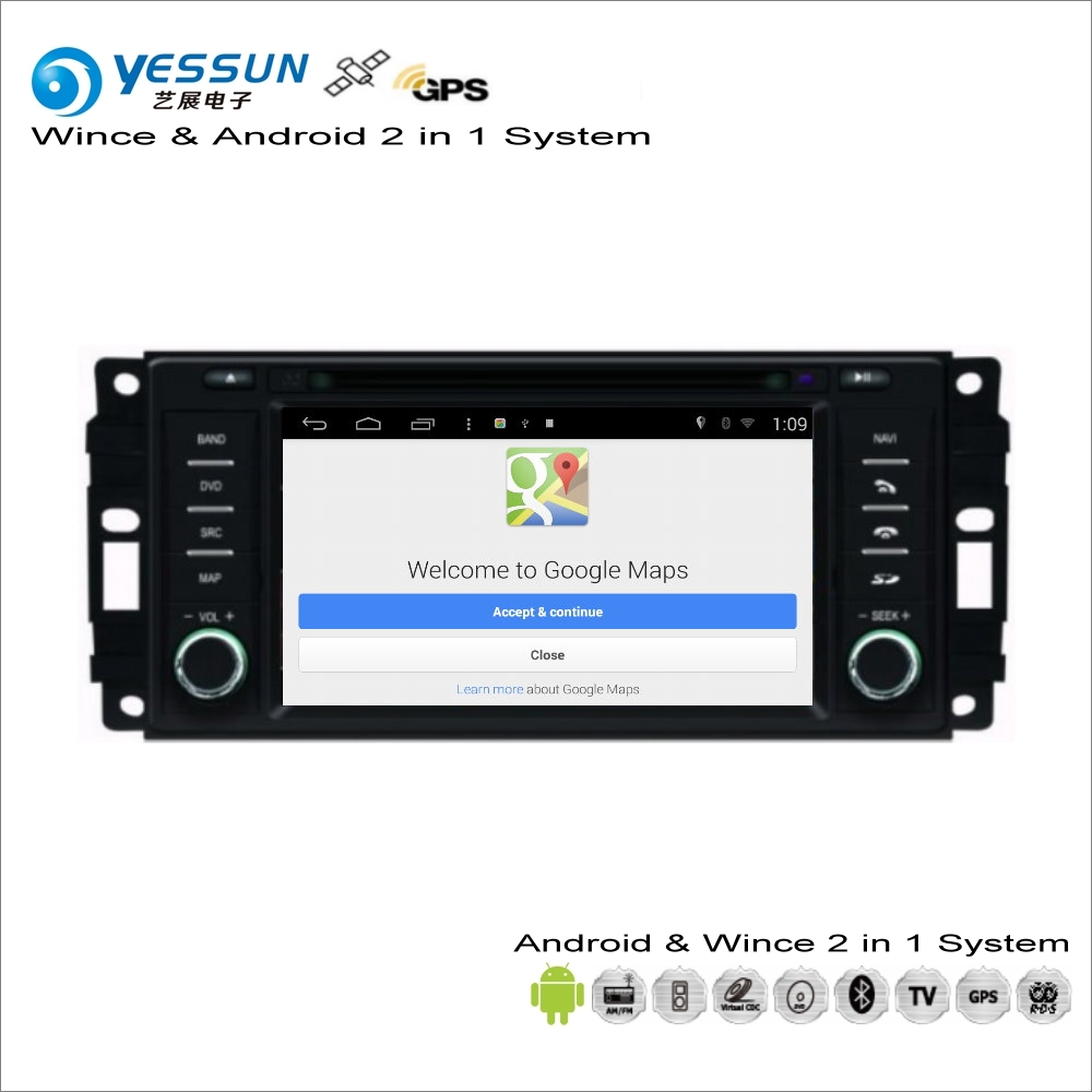 ≧Yessun para Chrysler Voyager/200 2008 ~ 2013 coche Android ...