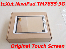 Quality Touch Screen for teXet NaviPad TM-7855 3G Touchscreen Panel Touch Pad Digitizer Glass Sensor