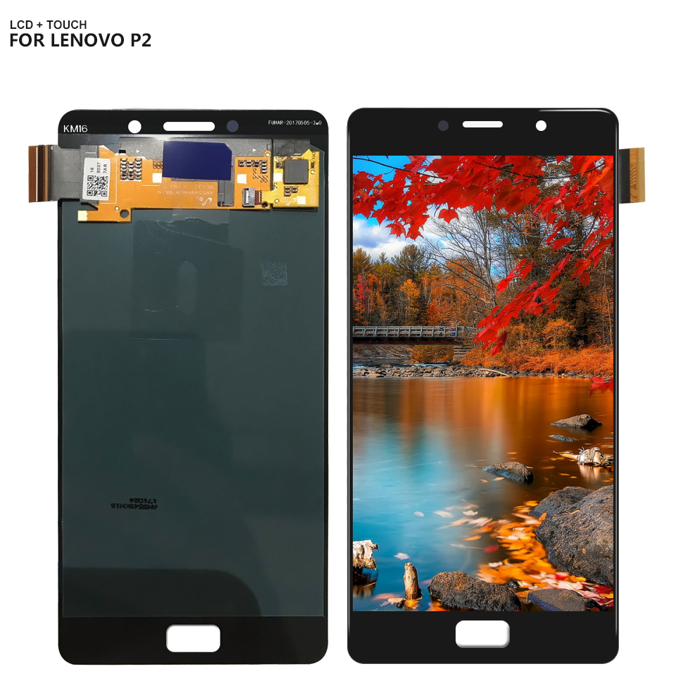 For Lenovo Vibe P2c72 P2a42 P2 LCD Display Touch Screen Digitizer Sensor Assembly with Free ToolsFor Lenovo Vibe P2c72 P2a42 P2 LCD Display Touch Screen Digitizer Sensor Assembly with Free Tools