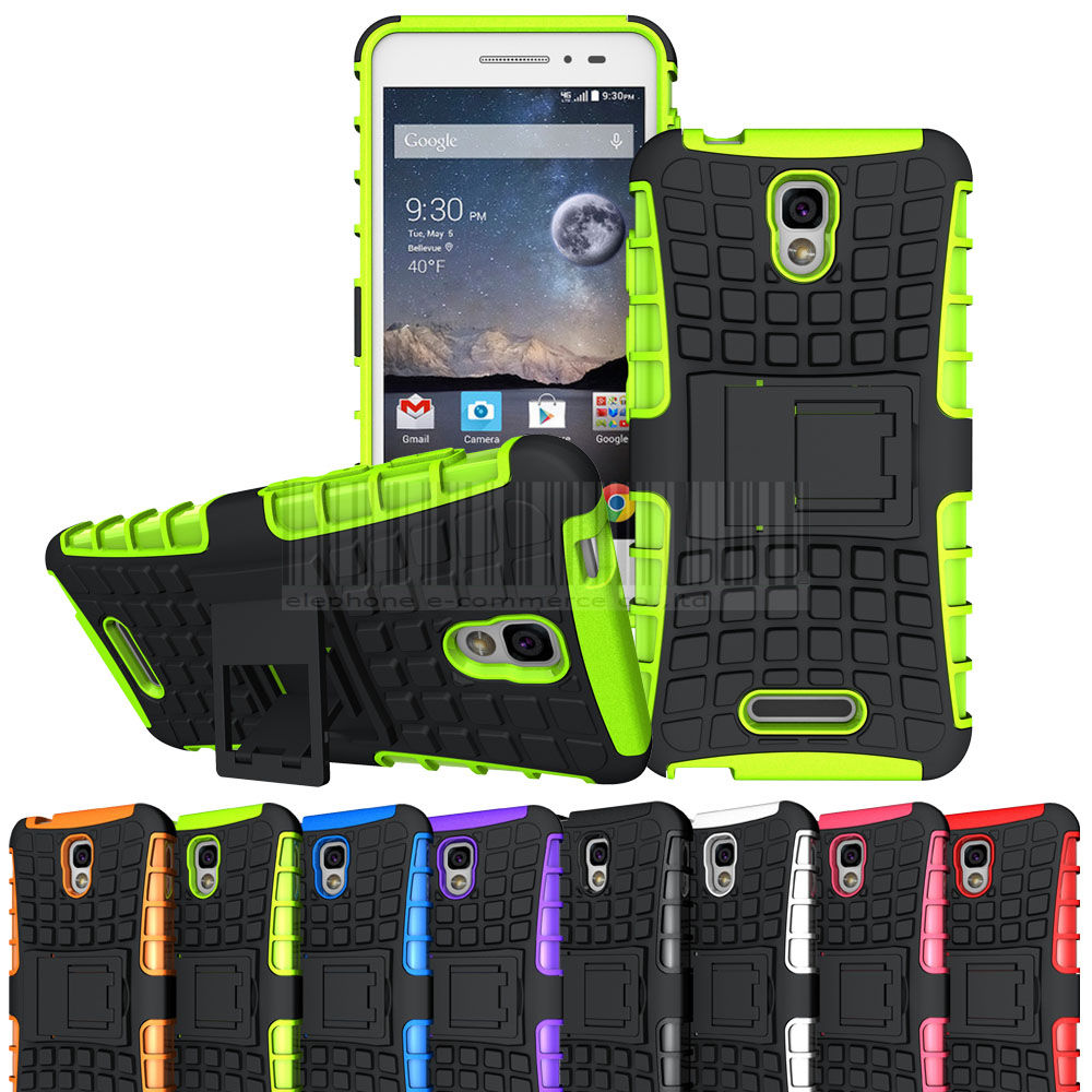 Dual Layer TPU+PC Hard Rugged Armor Cover back Stand Heavy Duty Hybrid Shockproof Protective <font><b>Case</b></font> <font><b>For</b></font> <font><b>Alcatel</b></font> <font><b>Pop</b></font> <font><b>4</b></font> <font><b>5051D</b></font> 5.0