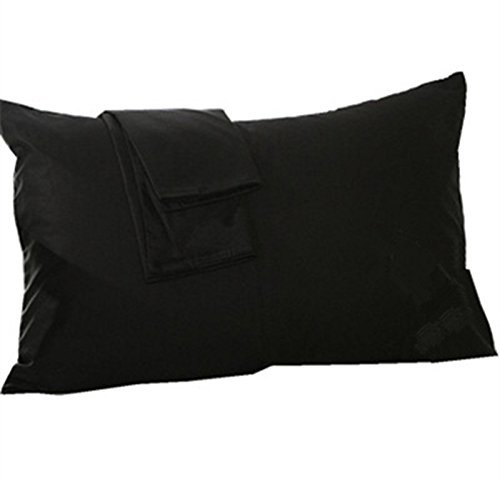 Microfiber Queen Pillow Case Envelope Closure Ultra Soft Wrinkle Inspiration Allergy Free Pillow Covers