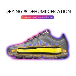 Image 3 - TINTON LIFE 220V EU Plug Portable Electric Shoe Dryer Deodorizate Sterilization Dehumidificate Shoes Baked Dryer