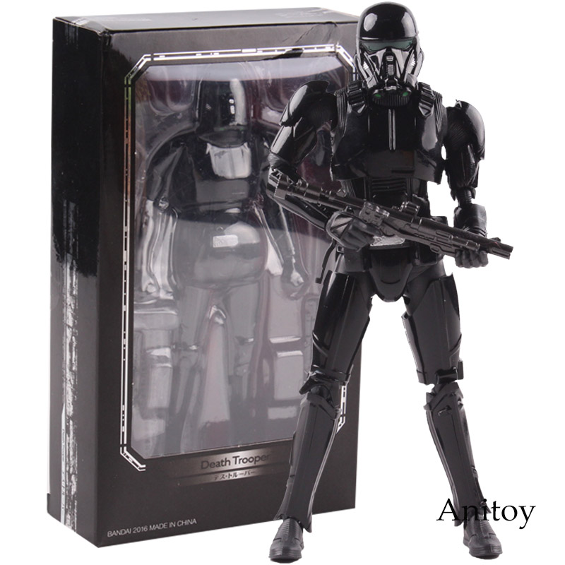 SHF Star Wars Figure Death Trooper PVC Action Figure Collectible Model Toy 15cm