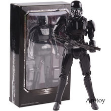 SHF Star Wars Figure Death Trooper PVC Action Figure Da Collezione Model Toy 15 centimetri(China)