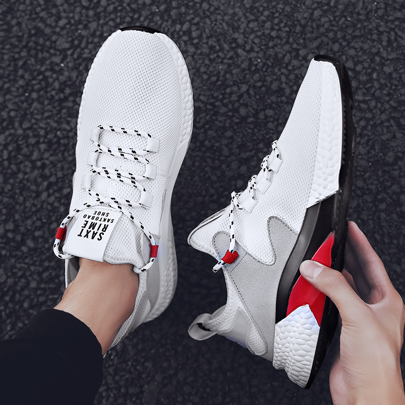 Male Gym Sport Shoes For Men Stability Outdoor Sneakers Men Athletic Trainers Tennis Shoes Breathble Outdoor Comfortable Sports