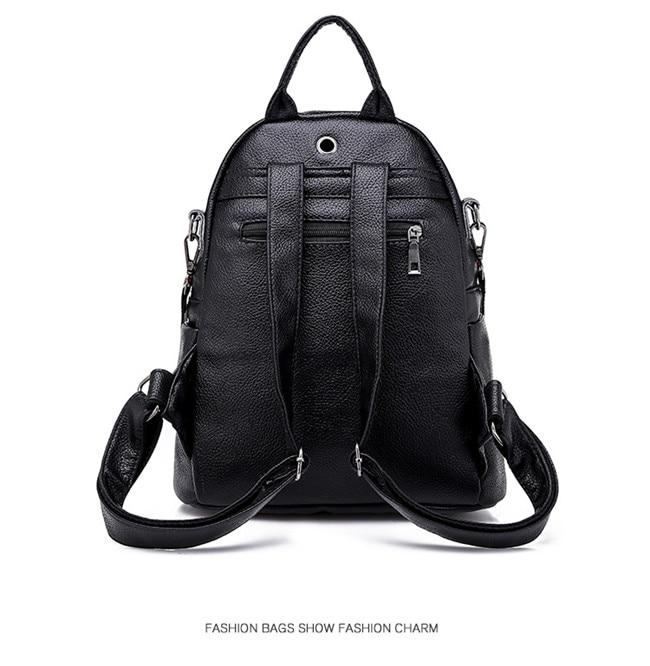 HTB1fqXiXIfrK1Rjy1Xdq6yemFXaZ Minimalism Female Backpack Pu Leather Youth Women Bagpack Beautiful Fashion Girl Casual Rucksacks Lady Shoulder Bag 2019 New