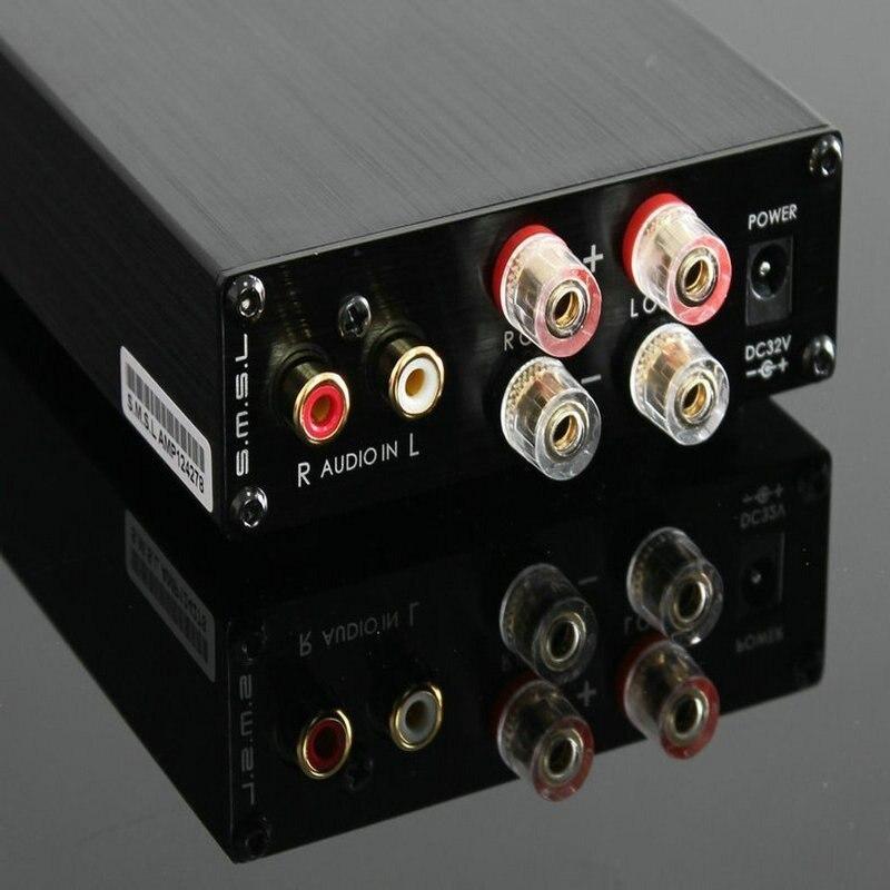 SMSL SA 98E 160W * 2 Grande Potenza HIFI Amplificatore Digitale TDA7498E Classe T AMP con 36 V/5A adattatore di Alimentazione Nero Argento Oro - 3