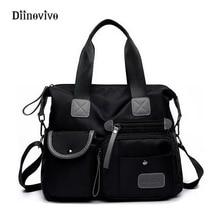 DIINOVIVO New Arrival Women Handbag Large Capacity Casual Messenger Bags Nylon Waterproof Vintage Crossbody Bolso Mujer WHDV0083