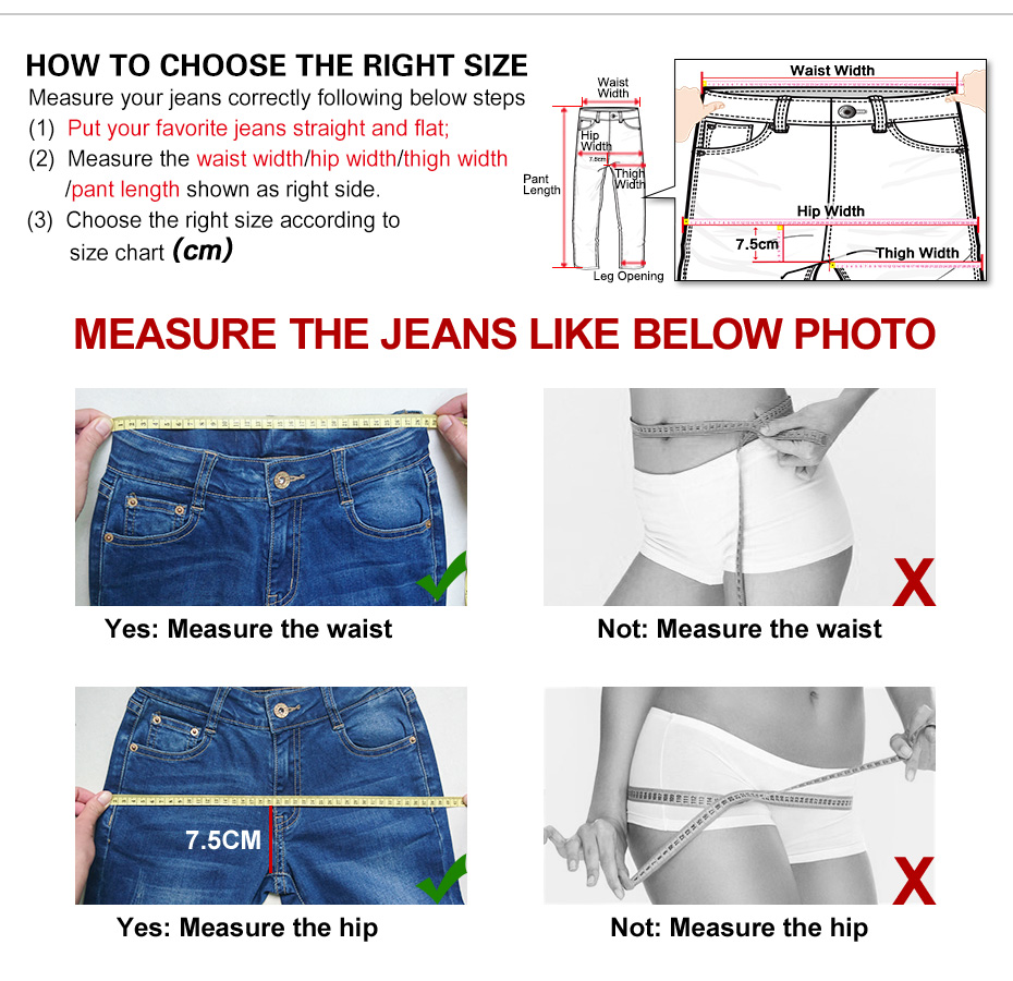 17 New arrival Jeans women Ripped loose style Bleached mid waist low elastic Plus size jeans 40-1KG Available 4